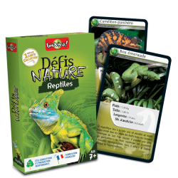 Défis nature - Reptiles 7+...