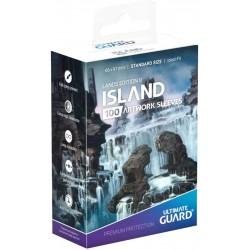 Sleeves MTG Land ed. 2 Île...