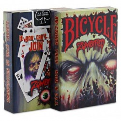 BICYCLE ZOMBIFIED CARTES...
