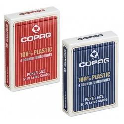 COPAG POKER 100% PLASTIC...
