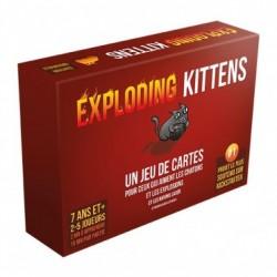 Exploding Kittens 18+ 2-5J 15'