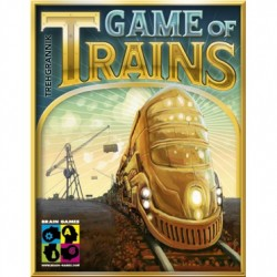 GAME OF TRAINS 2-4J 8+ 20'