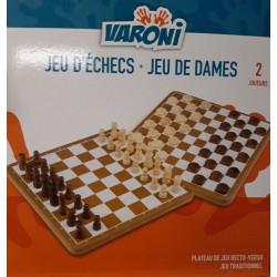 Coffret Jeu d'échecs - Jeu...