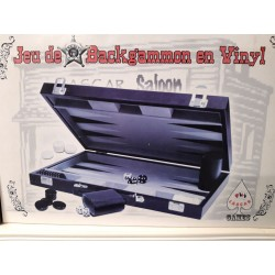 BACKGAMMON VINYL 38X24 VALISE