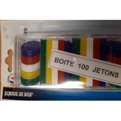 JETONS 100P BLISTER PLAYBOX